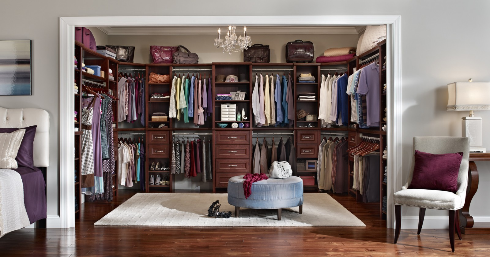 Laminate Closet Organizers Part - 23: Advanced Closet Systems | Custom Shelving And Storage Systems