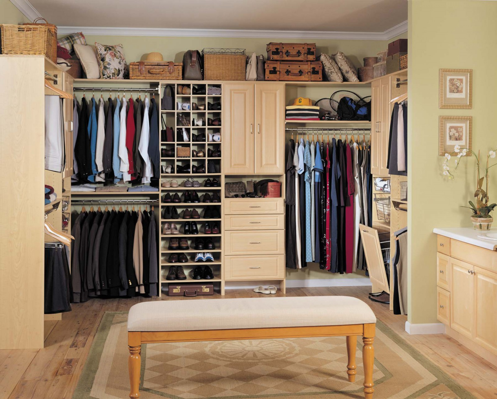 Charmant Advanced Closet Systems | Custom Shelving And Storage Systems